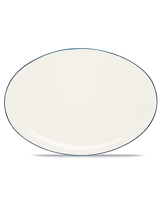 Noritake Colorwave Blue 16 Inch Oval Platter Review Find This Pin And More On Serving Dishes