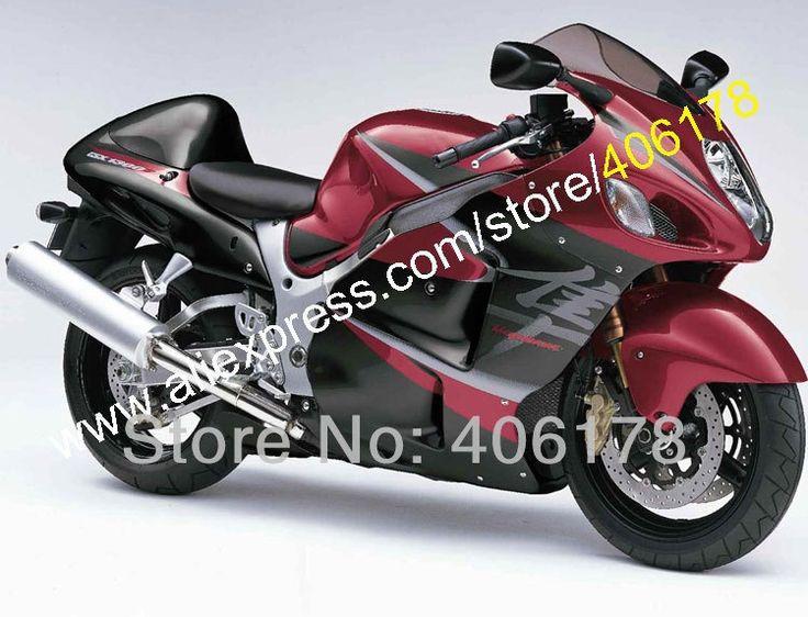 473.10$  Buy here  - Hot Sales,For SUZUKI Hayabusa GSXR-1300 99 00 01 02 03 04 05 06 07 GSX-R1300 GSXR 1300 Dark Red Fairings (Injection molding)