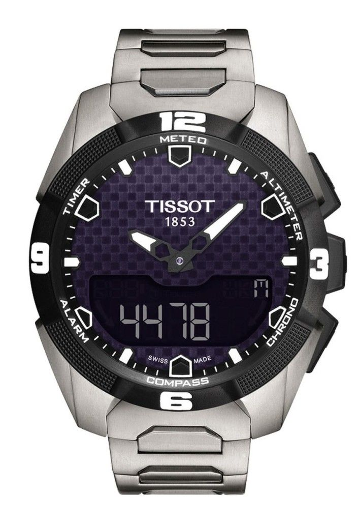 """Tissot T-Touch Expert Solar Watch Released - We've added to the article Ariel's hands-on VIDEO direct from Baselworld 2014 - See it with the original watch release article on aBlogtoWatch.com """"I truly dig the idea of all the instrumentation packed up into a lightweight and robust package. With the solar charging, this is a watch that's ready for any outdoors adventure you throw at it..."""" #ABTWBaselworld2014"""