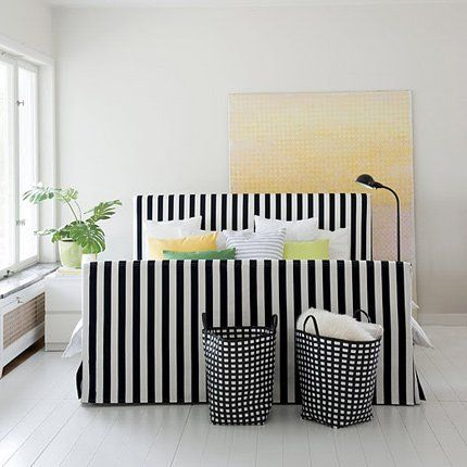 amazing pour relooker votre lit ikea with petit fauteuil cabriolet ikea. Black Bedroom Furniture Sets. Home Design Ideas