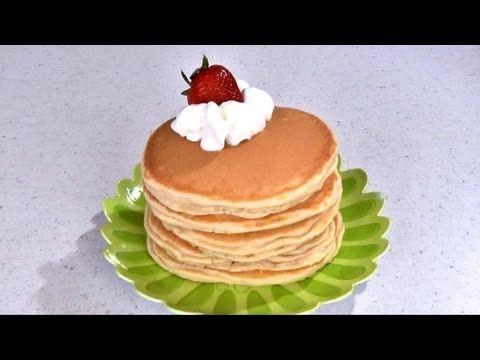 Como Hacer Hot Cakes Caseros. Receta | Cocina Muy Facil
