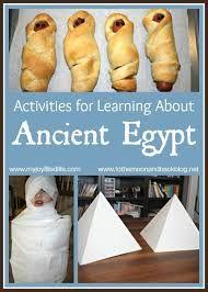 Výsledek obrázku pro ancient egypt craft for kids