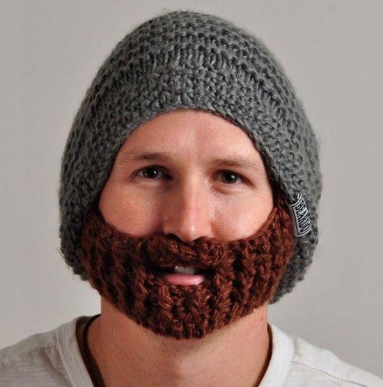 gorros tejidos con barba - Buscar con Google