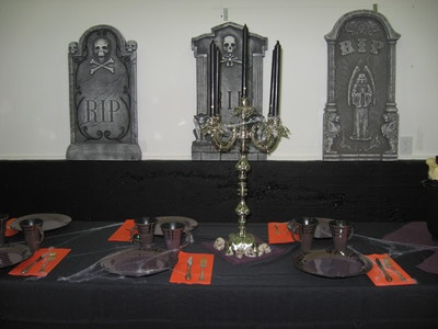 table decorations for halloween atlanta rental theme party halloween spooky