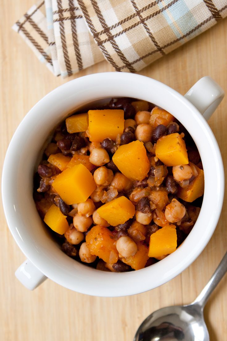 #Epicure Tangy Winter Squash and Bean Chili