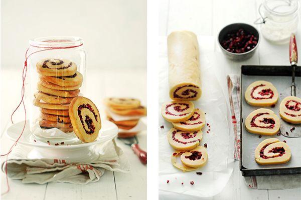 Bij kerst horen granberry's. Dit cranberry-kardemonkoekje combineert de zoete smaak van dit besje met het kruidige van de kardemon.