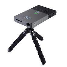 Android Inteligente Mini LED DLP Projetor Portátil Longa vida lâmpada LED Full HD LED projetor de cinema em casa Wi-fi Bluetooth 4.0(China (Mainland))