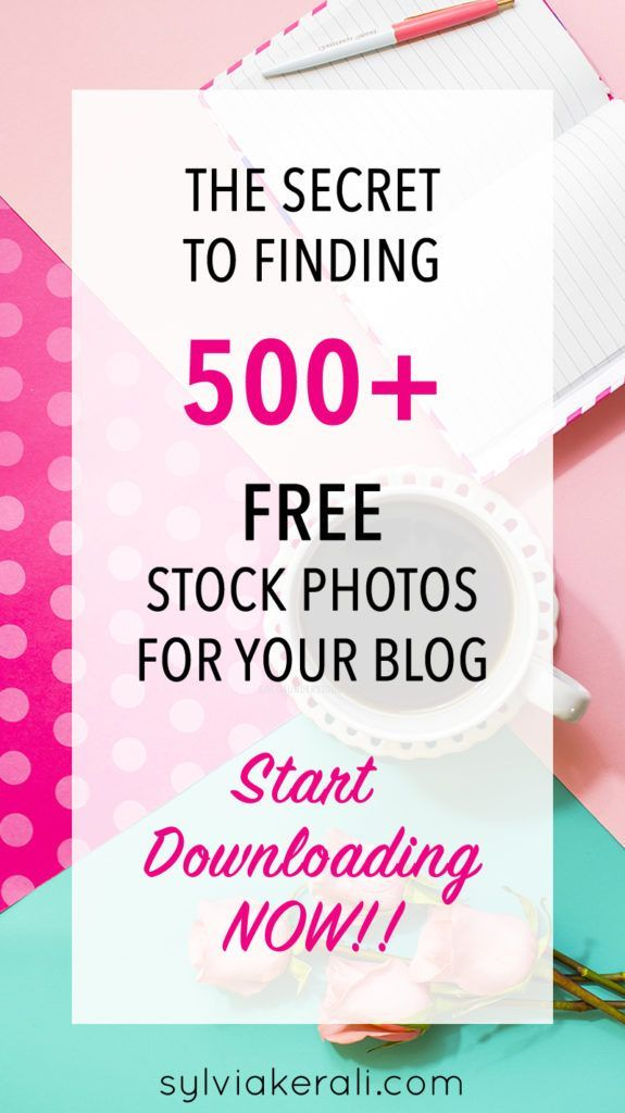Here's a fail safe way to find girly and feminine free stock photos for bloggers. free stock photography. #blog #blogger #blogging #stockphotos