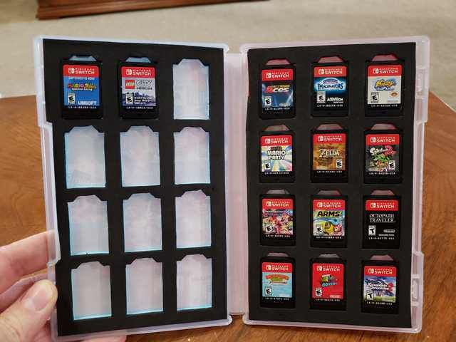 Modify Your Nintendo Switch Game Case To Hold Up To 24 Games