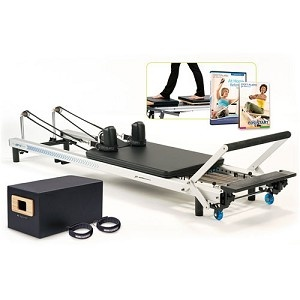 STOTT Pilates SPX reformer. For STOTT Pilates classes in the Baltimore area, check out LifeBridge Health & Fitness
