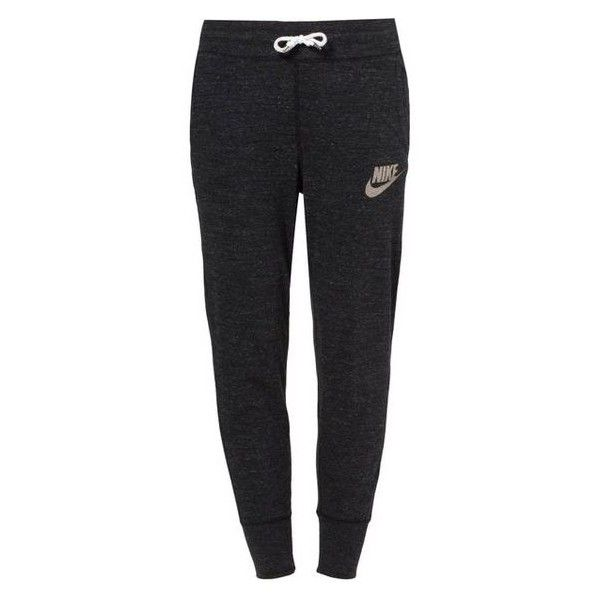 Nike Sportswear GYM VINTAGE Tracksuit bottoms/sail ❤ liked on Polyvore featuring activewear, activewear pants, nike activewear, nike, nike sportswear, vintage sportswear and nike activewear pants