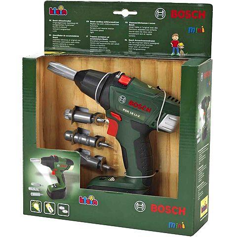 Bosch Akkus csavarbehajtó készket - Klein Toys