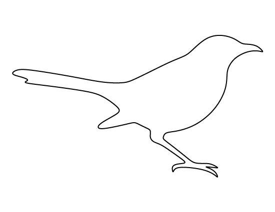 mockingbird outline