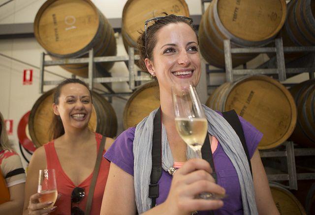 Wine tasting at Mount Majura Vineyard in Canberra   Human Brochure 2013   Flickr - Photo Sharing!