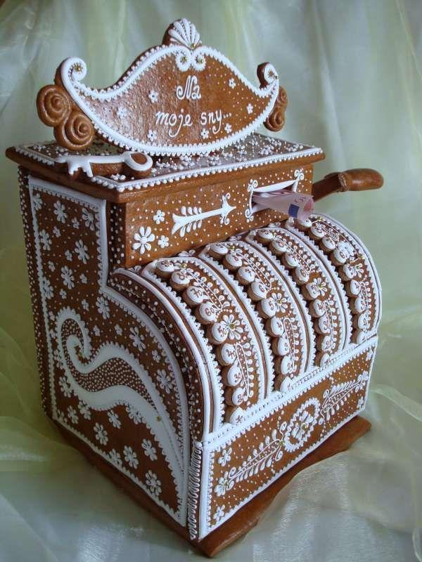 cash register gingerbread