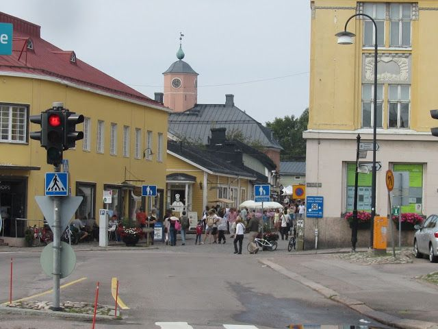 PORVOO OLDTOWN 1380.   2. Oldest Town in FINLAND   History... OLD TOWN. porvoo.fi