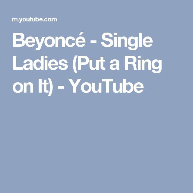 Youtube Beyonce Put A Ring On It Lyrics