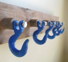 Danna Lopez is this something for you to put on a honey-do list ...........coat rack diy for the garage