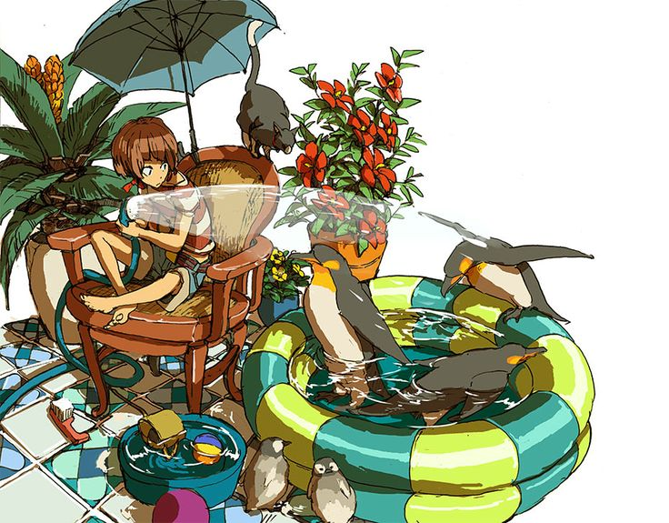 Penguin pool by *hira-geco on deviantART