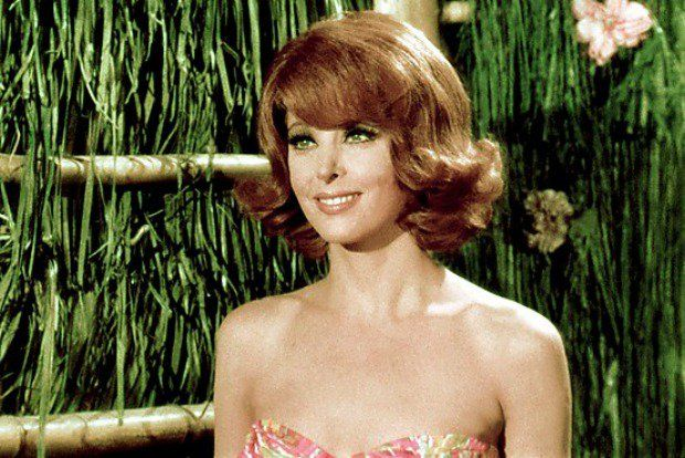 Ginger (Tina Louise) from Gilligan's Island.