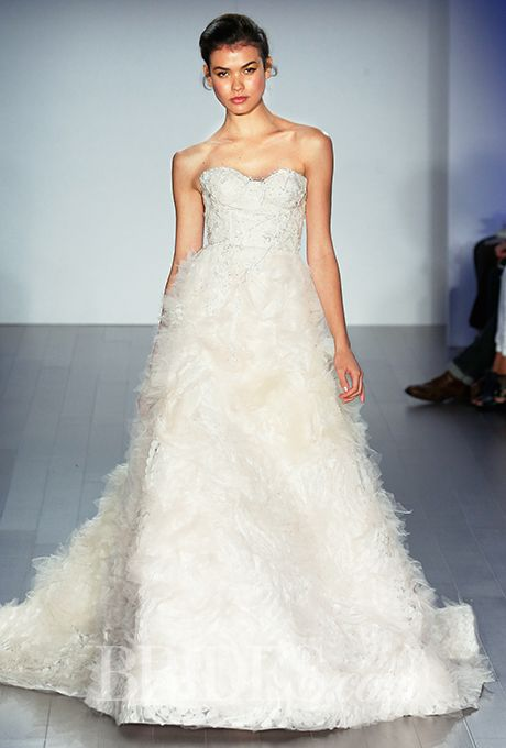 12 best images about lazaro 2015 on pinterest corsets for How much is a lazaro wedding dress
