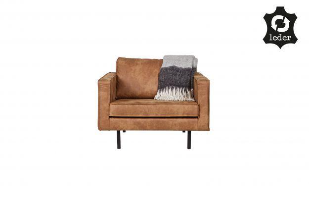 Rodeo fauteuil cognac   Banken & fauteuils   Woonkamer   BEPUREHOME
