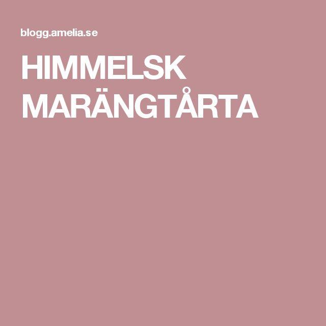 HIMMELSK MARÄNGTÅRTA