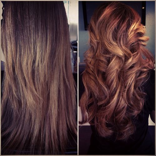 Before & After XB™ Hair Extensions