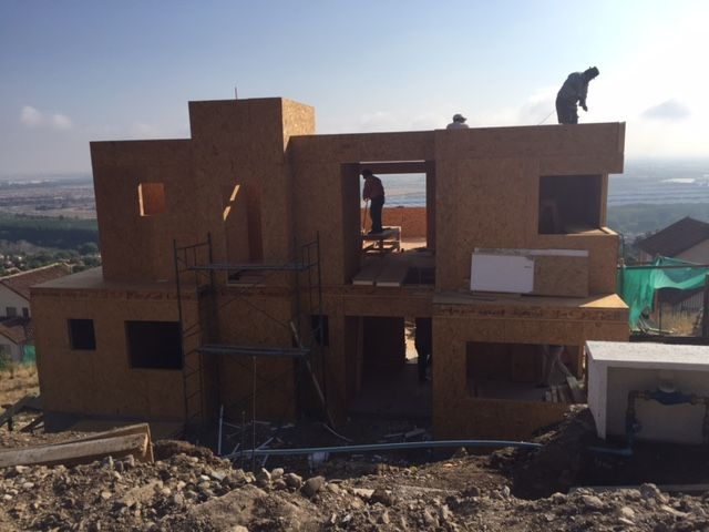 Avances Casa Panel Sip (Structural Insulated Panels) a Enero 2016
