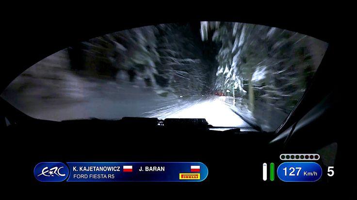 Internationale Jännerrallye powered by GaGa Energy - Kajetanowicz On SS10-con tempesta di neve