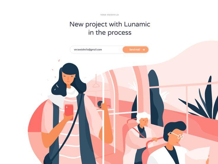 Illustration with @Lunamik (part 2)