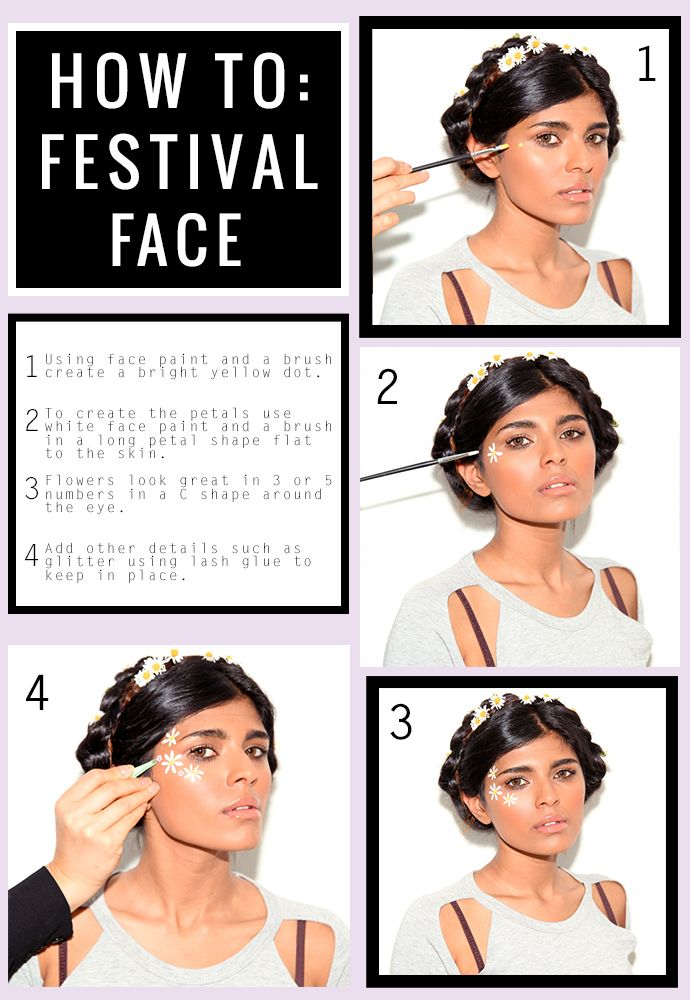 We encourage serious festival face paint on BlogStock!! Are you up for it?..I think I'll be needing a face painter.