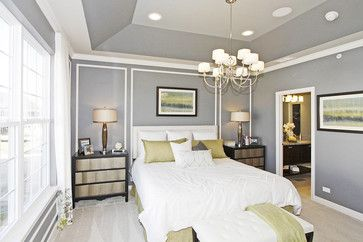 M/I Homes of Chicago: Briarcliffe Townhomes - Diversey Model - transitional - Bedroom - Chicago - M/I Homes