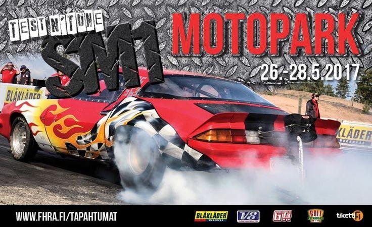 Kiihdytysajon SM-osakilpailu 1 - Motopark Raceway, Virtasalmi - 27. - 28.5.2017 - Tiketti