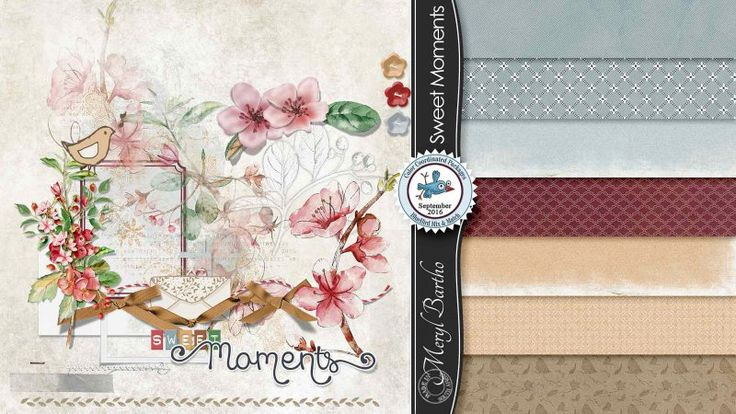 Sweet Moments Page Kit