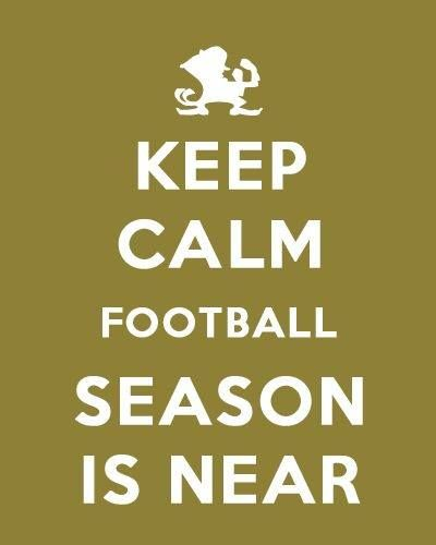 Notre Dame:  Football season is near! I can not wait, hope it is as good as last year.   Okay they did not win the BCS.