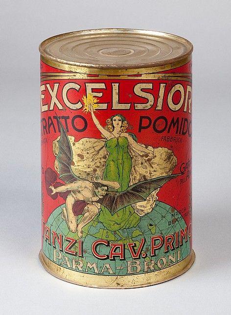 Musei del cibo | Museo del Pomodoro | Scatola per conserva di pomodoro (latta)