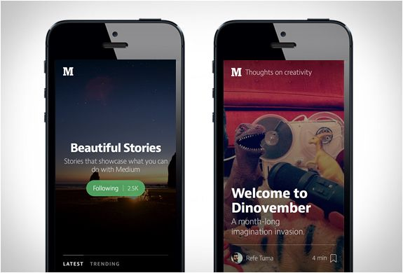 Medium App for iOS