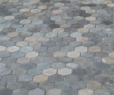 Granite Patio Tiles Made From Upcycled Granite.