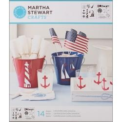 @Overstock - These unique stencils are ideal for adding painted designs to any project and feature a variety of fourteen different nautical designs.  http://www.overstock.com/Crafts-Sewing/Martha-Stewart-Nautical-Study-Medium-Stencils-Pack-of-2/6525192/product.html?CID=214117 $10.98