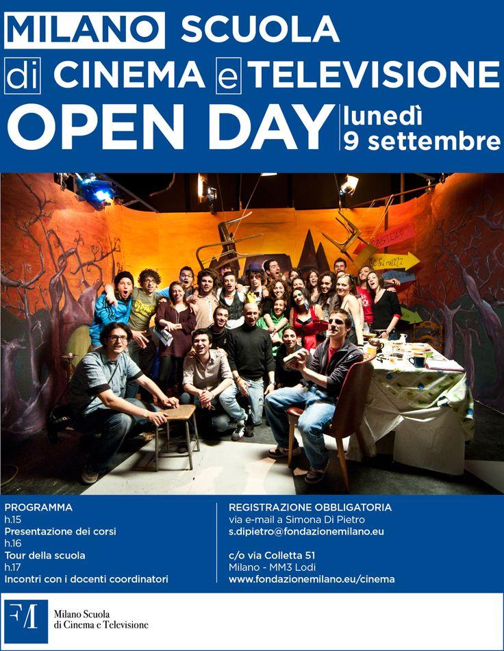 Open day Milano Scuola di Cinema e Televisione