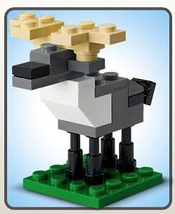 FREE Lego Reindeer at The Lego Store! {12/4} #Christmas