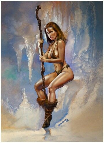 Princess Of Ice by Boris Vallejo 2000                                                                                                                                                                                 More