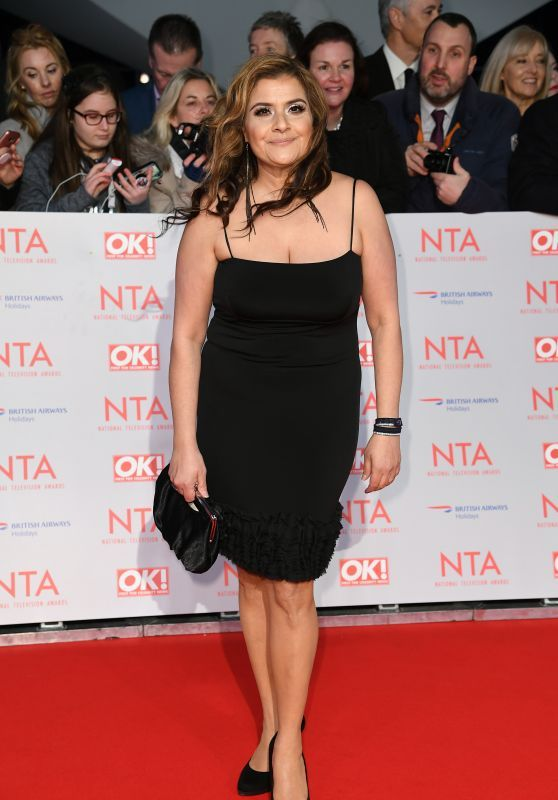 Nina Wadia – 2018 National Television Awards in London