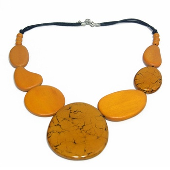 Vivid Jewellery - Lexi Necklace Yellow - Vivid Jewellery
