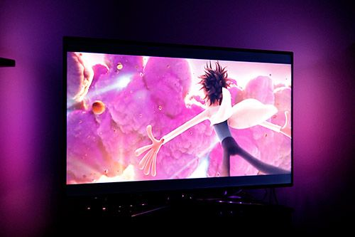 DIY Ambilight: As a result of your TV isn't large enough already