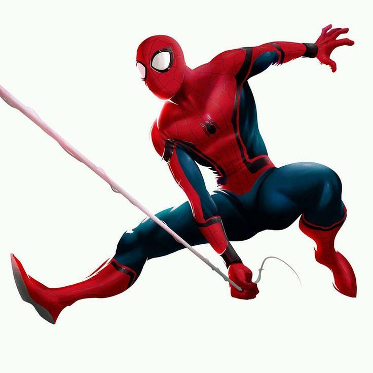 Spider-Man: Homecoming Art by Peihao Wang