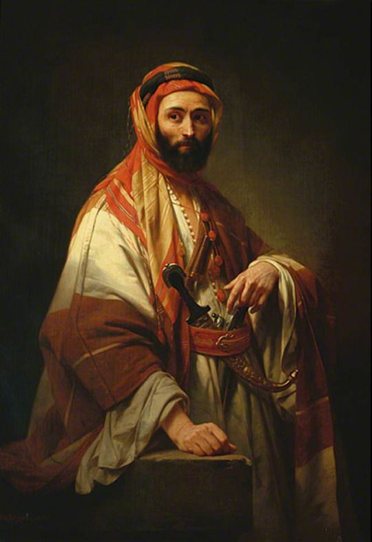Syrian Chief Nicaise de Keyser 1846
