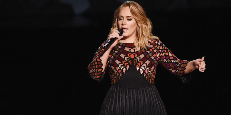 Adele Gets Emotional During George Michael Tribute at the Grammys (Video) -