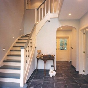 Planning the future # Stairs # Hallway but in other colours.